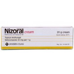 Nizoral Cream 20G Ketoconazole Antifungal Jock Itch Ring Worm Athletes Foot