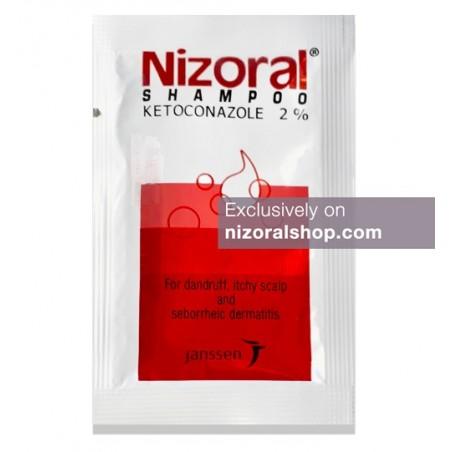 Nizoral Shampoo 6ml (0.21 oz) Sachet 2% Ketoconazole